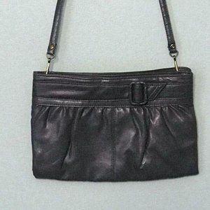 Vintage Grey Purse with Removable Strap